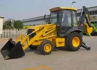 XNWZ74180 backhoe loader 0.8/1.0 m3 small garden tractor,cheap loader backhoe with well price and high quality supply by china