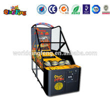 video game arcade basketball shooting machine for sale in China