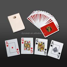 casino plastic poker card