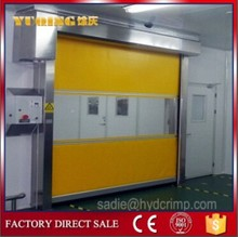 YQR-01high speed roll up doors, edge color for roller shutter