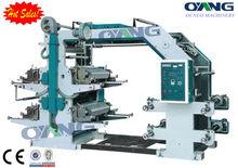 Popular automatic non woven fabric 4 color flexo printing machine
