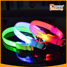 2015 High Quality Customized Led Lighten Pet Collars and leash for dog