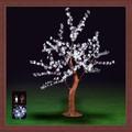 Led cherry blossom light tree blanco planta artificial nuevo producto fake flor con la luz llevada