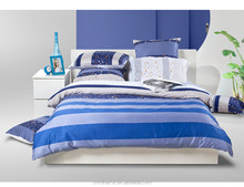 Cheap prices 100% cotton satin Twill style bright color reactive print wholesale comforter sets bedding