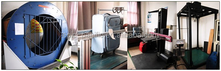 Classic ABS PC Luggage Bags with Spin Wheeled Customed Made