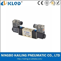 4V220-06 5/2 way Normally closed DC24v pneumatic solenoid control valve