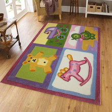 100% polyester soft fashion design printed baby play mat