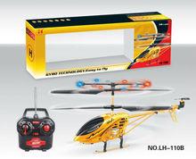 Nuevo y brillante de oro 3.5ch juguetes del rc helicóptero del rc helicóptero manual
