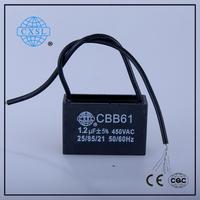 Best price CBB61 round case capacitor