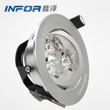 3 years warranty factory lamp rotating ajustable led down spot light
