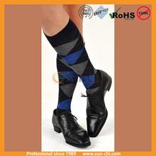 top grade hotsell professional manufactuer argyle knee high sock leg warmer