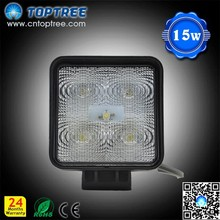 2015 hot sale For car tuning light 800lum12V 15w led work light