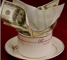Impresión falsa Money papel servilletas