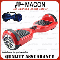 High Quality red colour 2 Wheels Electric Scooter