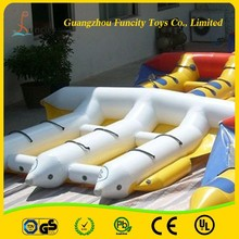 0.9mm PVC tarpaulin inflatable water sport fly fish game fishing boat