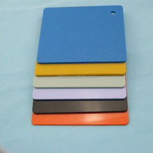 vacuum forming Smooth colored abs plastic board