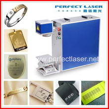 steel ring electronics chips instrument fast speed portable mini fiber laser marking machine for metals