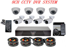 8CH DVR best home surveillance cameras & H.264 Network Digital Video Recorder System