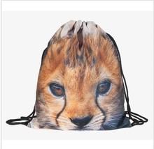 Promotional cute drawstring plastic bag travel