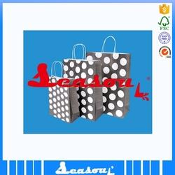 advertising kraft paper custom gift bags