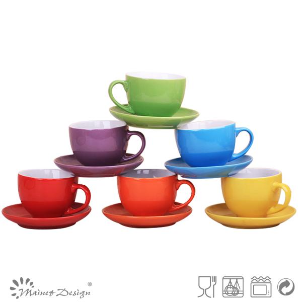 Venta al por mayor baratos cappuccin establece taza los for Proveedores de ceramica