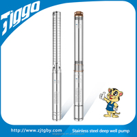 TIGGO Professional 4ST3/8 Stainless Steel Deep Well Submersible Pump With Small Diameter