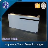 High end cashier desk high quality clothing shop counter table design
