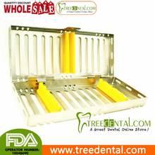 B007a instrumento Dental caja de desinfección para 5 instrumentos dentales Dental esterilización cassette
