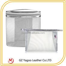 Fashion Makeup Bag Clear PVC Transparent Cosmetic Bag with Zipper