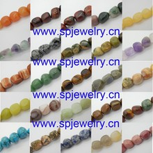 nuggest semi precious stone beads, 3-13mm, 16-inch per strand