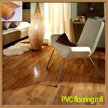 commercial design wooden PVC vinyl flooring for indoor