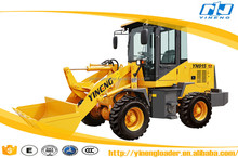 CE provided YN915 1 ton front wheel loader for sale adopt Xinchai engine