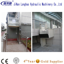 CE ISO disable wheelchair lift platform