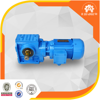 30 years manufacturing history ISO CE High torque SEW standard S series small helical worm speed reducer