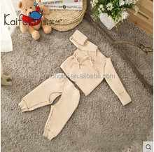 100% GOTS organic cottonThick clothing Sets for newborn baby