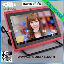 7 inch allwinner a13 tablet pc cover with keyboard