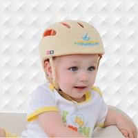 100% cotton ivory color breathable babi hat Beilibao F style infant helmet