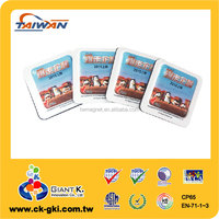 High quality advertising giveaways rubber 3d custom soft pvc magnet