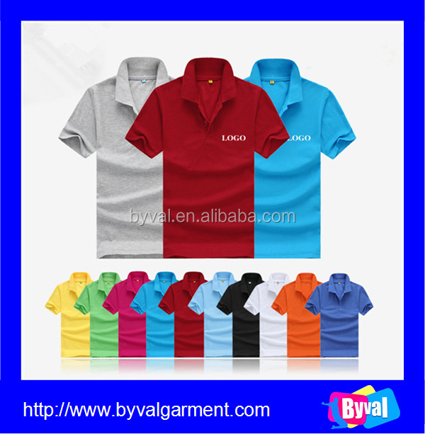 China Oem Your Own Design Polo Shirt Plain Polo Shirt For
