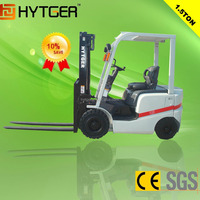 HYTGER brand hot sale 1.5ton diesel new forklift price with used forklift in uae