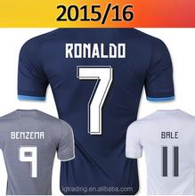 15/16 cristiano ronaldo jersey Top Thai Quality Spain RONALDO JAMES Soccer Jersey camisetas de futbol 2015 2016 football shirts