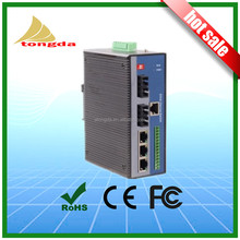 5 Port Entry Level Unmanaged Din-Rail network ethernet Switch