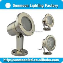 Power saving Ip68 waterproof decoration led underwater lights 3w, led under water lamp