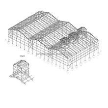 metal building kits made in China (LTX429)