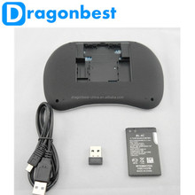 New Arrival !!! Rii Mini i8 2.4G Original Wireless Keyboards gaming Fly Air Mouse Touchpad For Android TV BOX game Keyboard