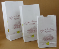 2015 cheap food paper bag / coffee packaging bags/ custom food paper bag jakarta for garment