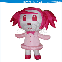 Cartoon doll costume ,inflatable mascot costume with high quality