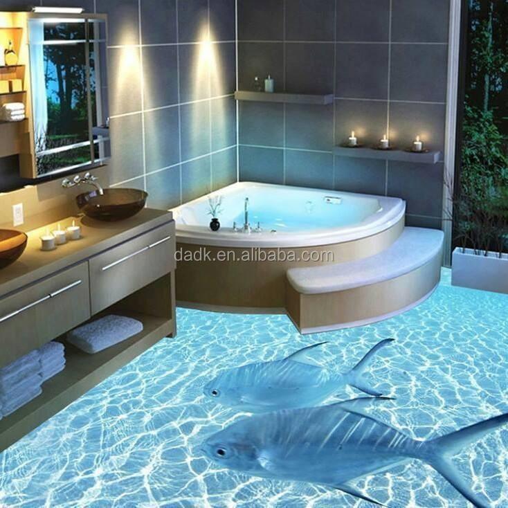 Salle de bains tanche 3d attrayant tage artisanat en plastique id du produit 60231183233 for Peinture carrelage salle de bain etanche
