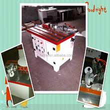 2015 Hot sale double sides glue manual edge bander machine