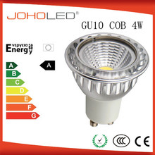 high CRI led cob gu10 4w led gu10 50w halogen replacement 4w led spot mr16